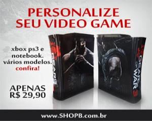 PRSONALIZE O SEU TAMBÉM DEIXE SEU VIDEO GAME COM A SUA CARA! DEIXE SEU VIDEO GAME ESTILOSO!