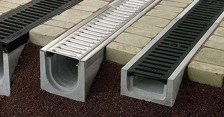 лотки водопропускные прямоугольного сечения
