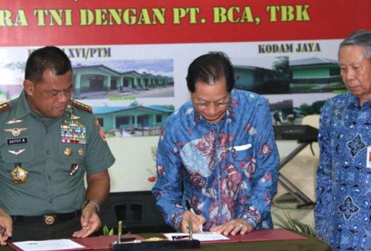 Apresiasi BCA kepada TNI
