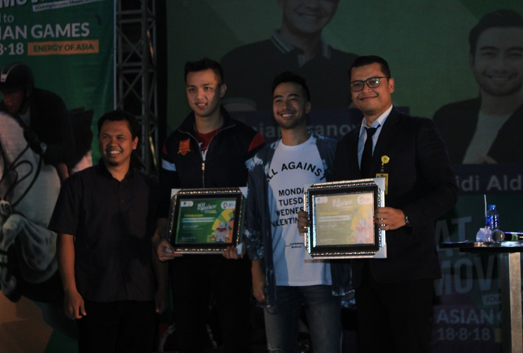 Vidi Aldiano Sebarkan Semangat dan Optimisme Asian Games 2018