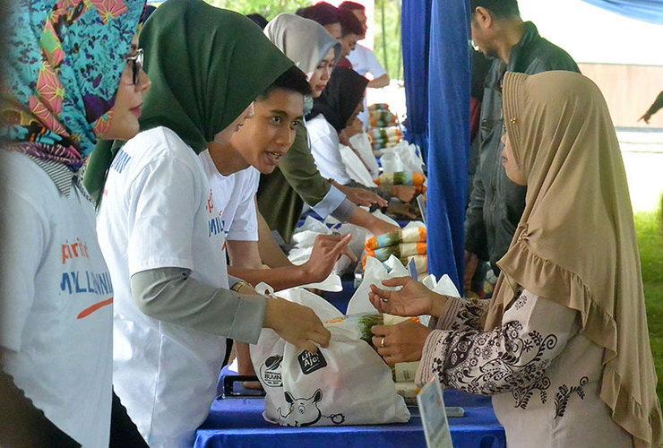 Kerja Nyata BUMN Berkontribusi Bagi Masyarakat dan Lingkungan