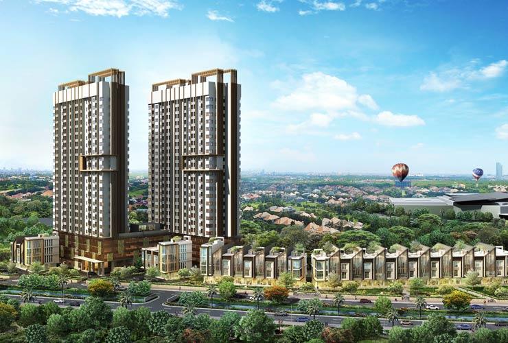 Apartemen Ini Hanya Berjarak 250 Meter dari AEON Mall Jakarta Garden City