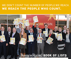 Business Record 2017 Book of Lists