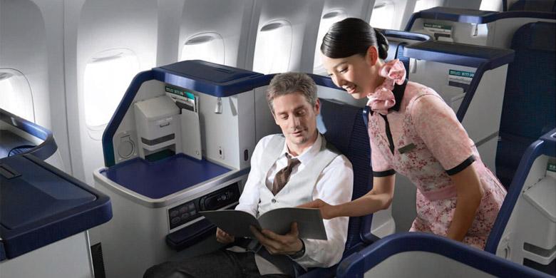 Terbang ke Amerika dengan Keramahan Elegan Bergaya Jepang