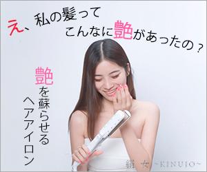 """ヘアアイロン絹髪美人「ヘアアイロン絹女〜KINUJO〜」2"""""""