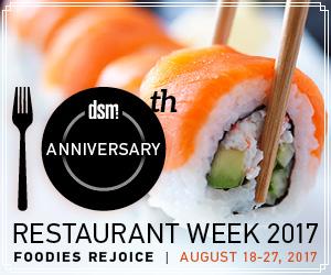 dsm Restaurant Week