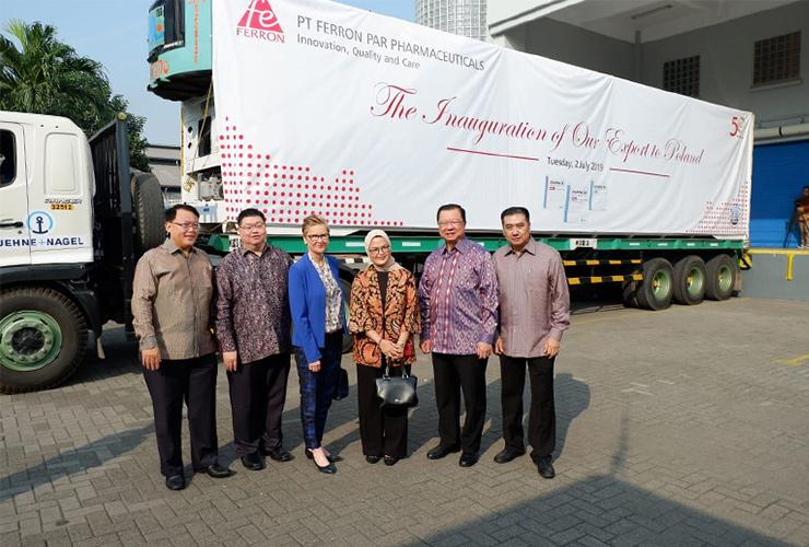 Bikin Bangga Indonesia, Ferron Ekspor Obat ke Eropa