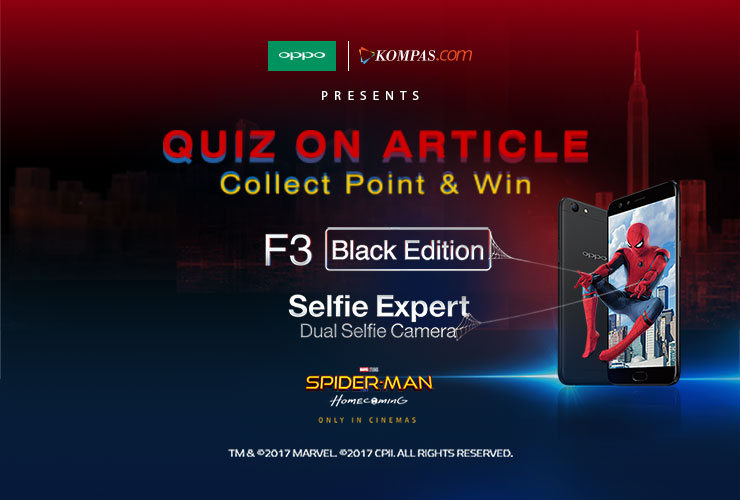 Ini Nama Pemenang QoA: Collect Point and Win OPPO F3 Black Edition