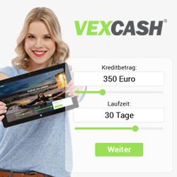 VEXCASH - Einfach 30 Tage Geld leihen