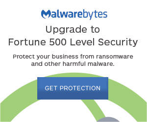 Malwarebytes Advert