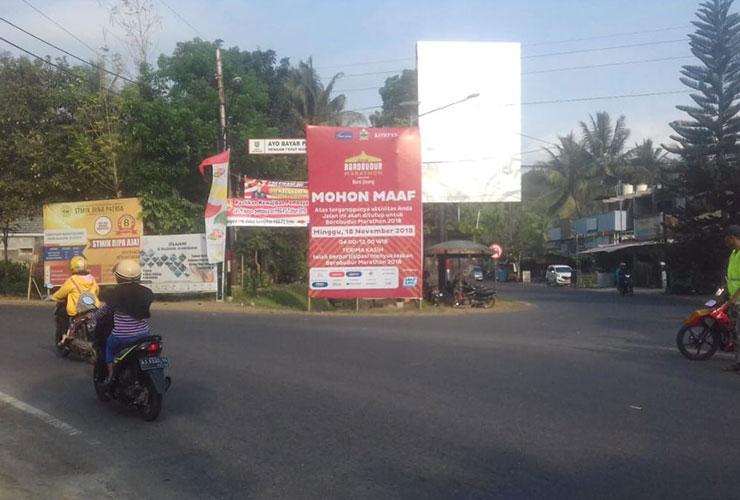 10 Jalan yang Ditutup Saat Penyelenggaraan Borobudur Marathon 2018