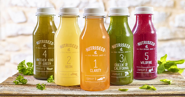 An image of Juice Cleanse 2 Day Cold Pressed Detox Diet Drinks