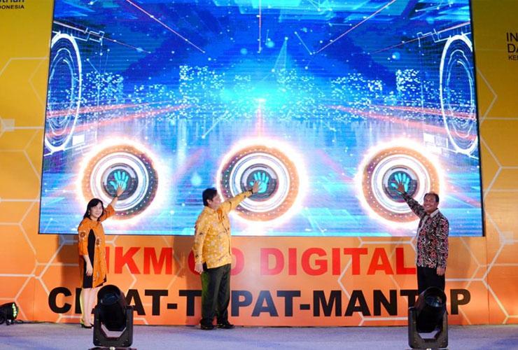 "Perluas Pasar IKM, Kemenperin Mendorong IKM Nasional ""Go Digital"" melalui Program e-Smart IKM"