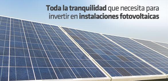 Seguro para Instalaciones Fotovoltaicas