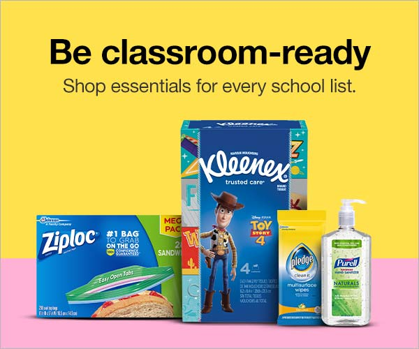Be classroom-ready. Shop essentials for every school list.