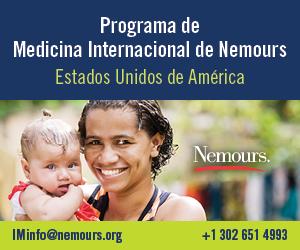 Programa de Medicina Internacional de Nemours. Estados Unidos de America. Nemours. IMinfo@nemours.org +1 302 651 4993.