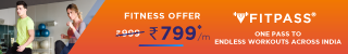 Join Fitpass At Rs.799/m