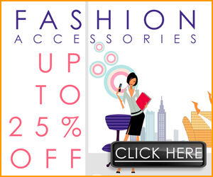 Save up to 25% off fashion accessoires at Dollardays.com
