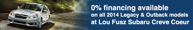 0% Financing on Subaru Legacy Subaru Outback