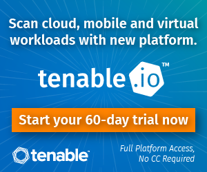 Tenable Advert