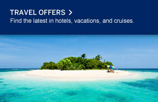 TRAVEL OFFERS. Find the latest in hotels, vacations, and cruises.
