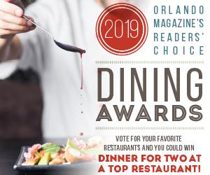 Vote in Orlando Magazine's Best of Orlando