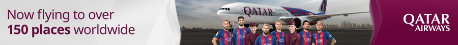 Qatar Airways main partner FC Barcelona