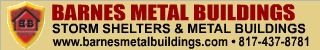 Barnes Metal Buildings 817-437-8781