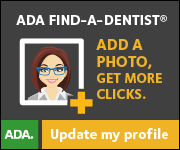 Advertisement: ADA Find A Dentist Click Here to Update Your Photo